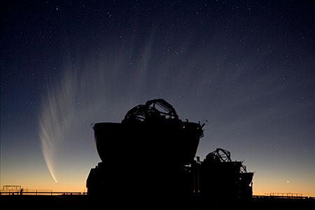 Comet McNaught over AT