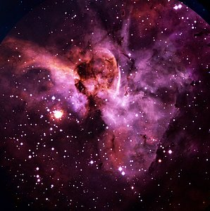 Eta Carinae and the Keyhole Nebula