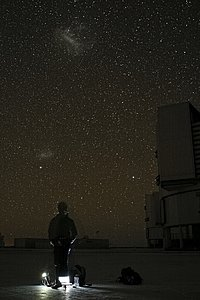 Astronomer at Paranal