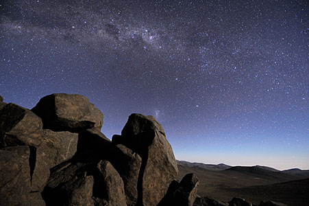 The Milky Way seen from the Atacama Desert