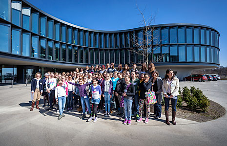 Girls' Day Event at ESO Headquarters in 2014