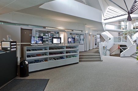 Entrance area at ESO Headquarters