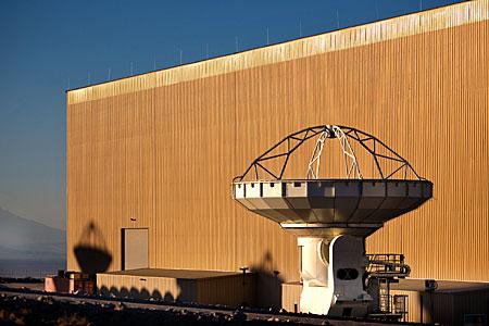 ALMA antenna at OSF