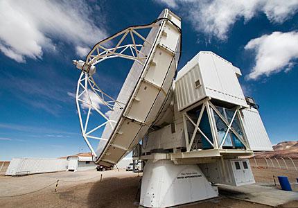 APEX, the Atacama Pathfinder Experiment, on Chajnantor