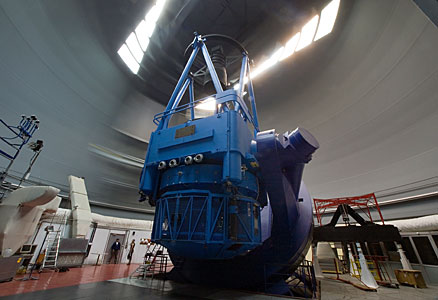 The ESO 3.6-metre telescope at La Silla