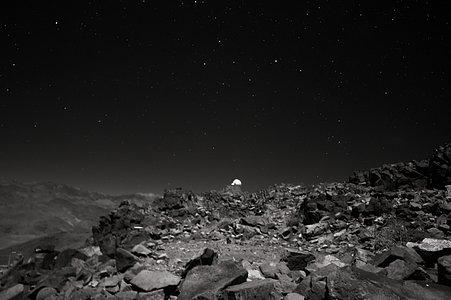 La Silla's Rocky Landscape