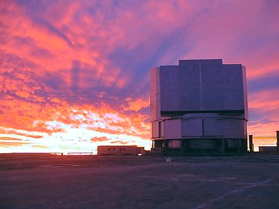 First light for the VLT