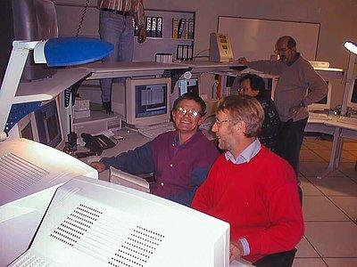 VLT First Light, 25 May 1998