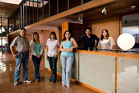Reception at the Paranal Residencia