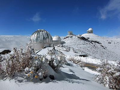 Snowy La Silla