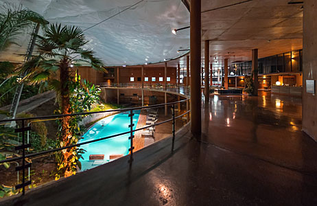 A view inside La Residencia