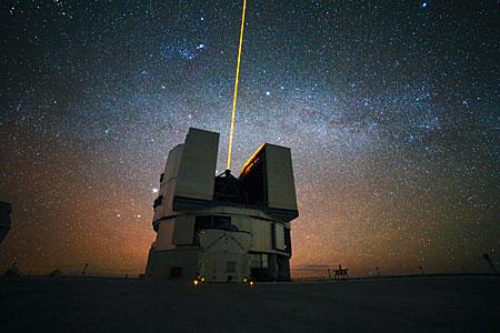 The Milky Way over UT4