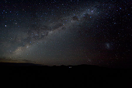 Milky Way over ALMA's site