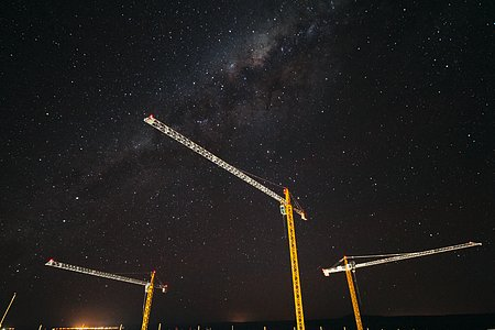 Cranes and the cosmos