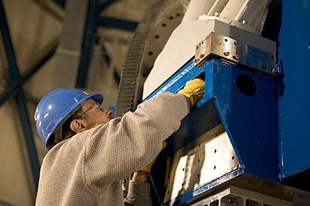 VLT Survey Telescope Top End Ring