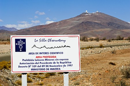 Welcome to La Silla