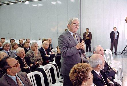Charles Fehrenbach at R.E.O.S.C. plant
