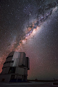 Milky Way and VLT
