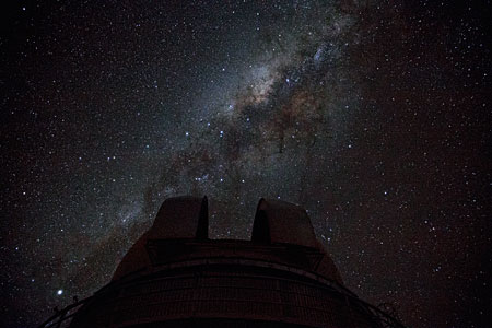 The Milky Way above La Silla