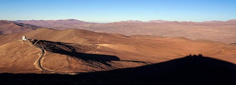A red desert panorama