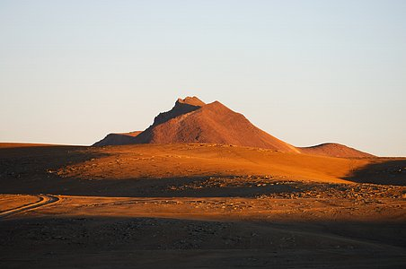 Chajnantor before ALMA