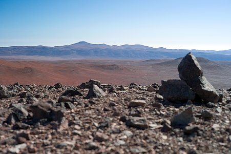 Paranal from Armazones