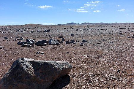 Dry surroundings of Paranal