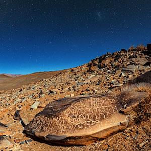 Petroglyphs around La Silla