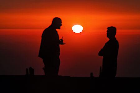 La Silla sunset