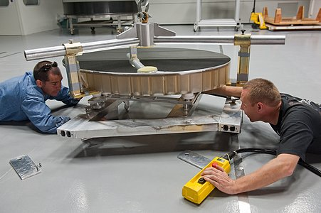 Preparations for mirror recoating
