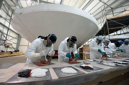 Preparing glue for ALMA