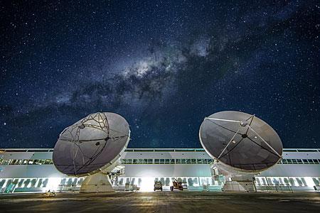 The OSF at night