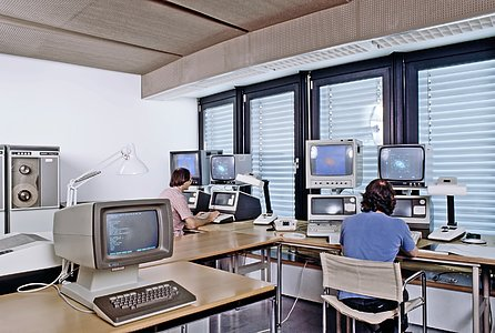 MIDAS user room in 1980