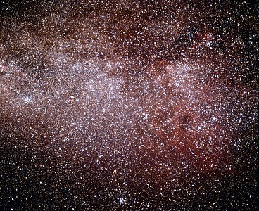 The Gum Nebula in the Milky Way