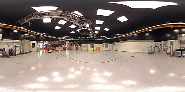 Panorama of Mirror Maintenance Building