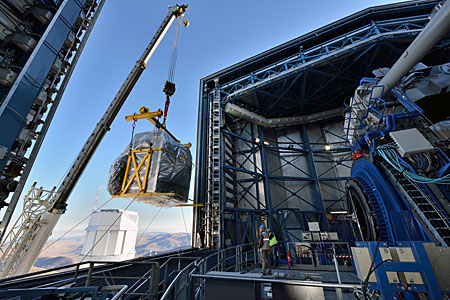 Installation of VLT Instrument MUSE