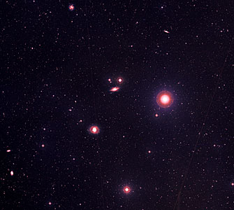 NGC 1068 and Friends