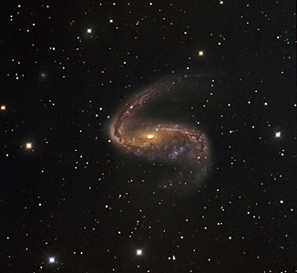 La Distorsionada Galaxia NGC 2442