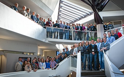"Group photo of the Conference ""Science from Next Generation Imaging Spectroscopic Surveys"""