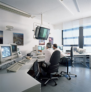 NTT Remote Control Room