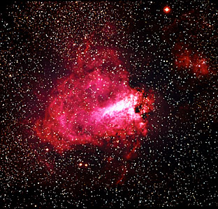 The Omega Nebula (M17)