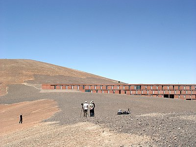 One-life magazine at Paranal
