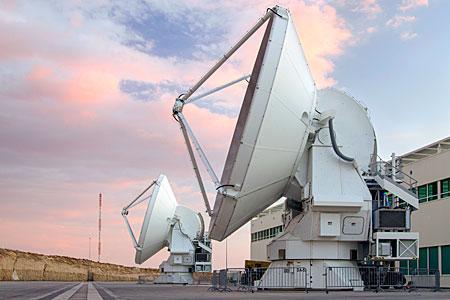 European ALMA Antennas at OSF