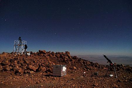 E-ELT site testing — Cerro Tolonchar / Chile