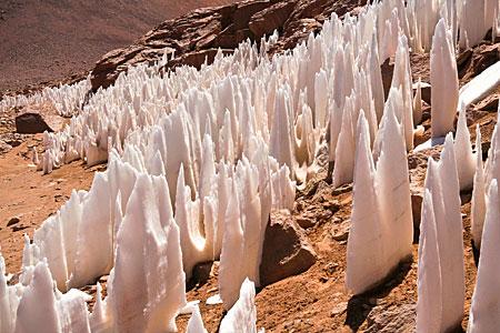 APEX Image Calendar, March 2010 — Penitent Ice
