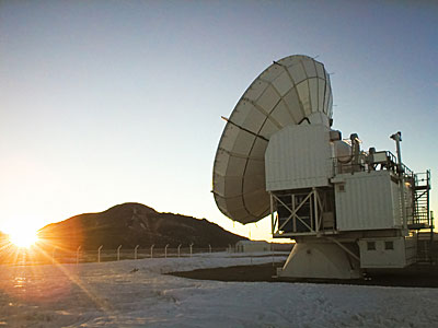 APEX Image Calendar, December 2010 — Chajnantor at Sunrise