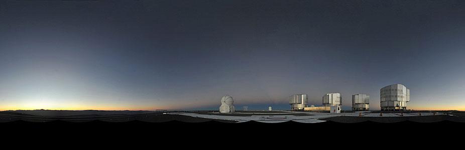 VLT panorama