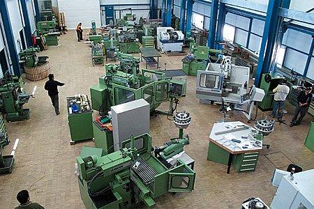 Paranal Mechanical Workshop