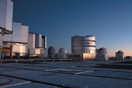 Paranal at Sunrise