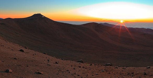 Golden Hour at Paranal